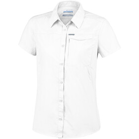 Columbia Silver Ridge 2.0 Blouse Korte Mouwen Dames, white